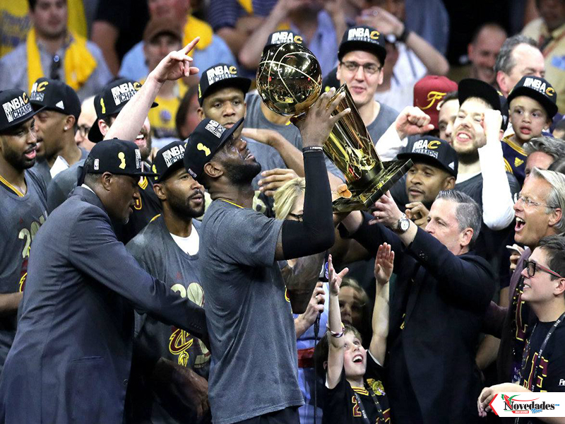 Le Bron James campeon 21