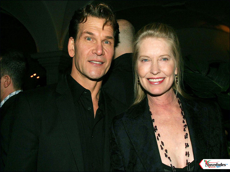 Patrick Swayze y esposa1
