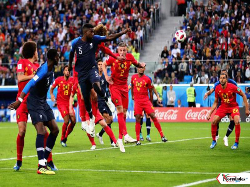 Francia vs Belgica final1