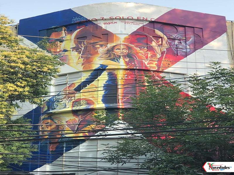 15 mayo novedades xmen condesa mural