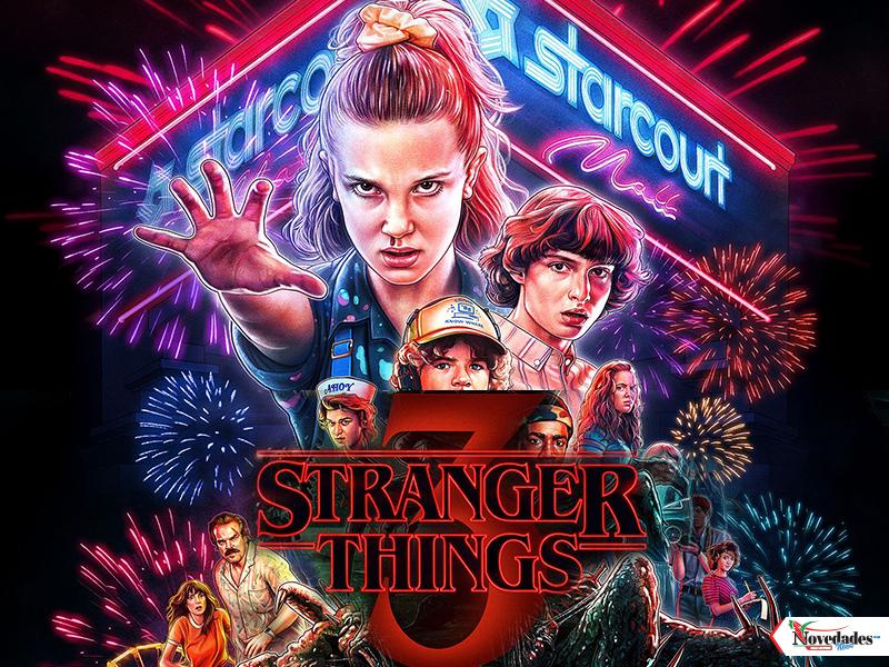 10 JULIO novedades stranger things 3
