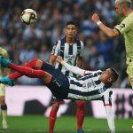 Con una espectacular chilena del Mellizo, Rayados vence 2-1 al América en la Final de Ida