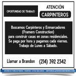 ANUNCIO PUBLICIDAD carpinteros