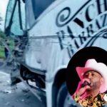 Pancho Barraza y sus músicos sufren aparatoso accidente