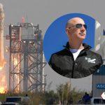 Jeff Bezos llega al espacio en cohete de su compañía Blue Origin