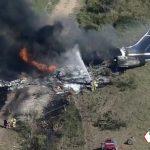 Se accidenta avión en Houston, Texas con 21 personas a bordo